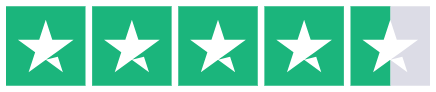 Trustpilot 4.5 stars